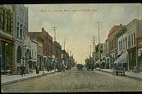 Main Street looking west, circa 1908